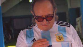 La estrecha relación del cantante de Los del fuego con el mundo del fútbol