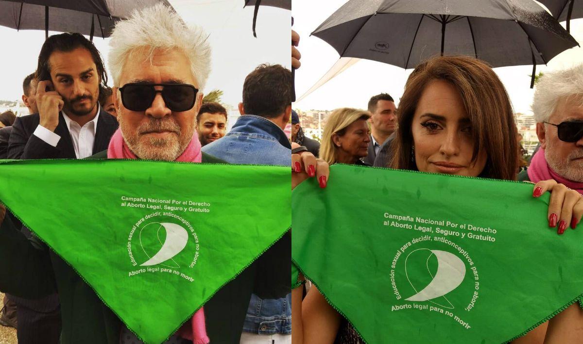 Que sea ley: famosos pidieron por el aborto legal, seguro y gratuito en Cannes