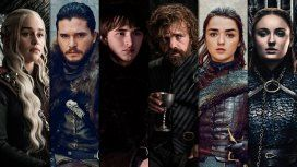 Daenerys Targaryen, Jon Snow, Bran Stark, Tyrion Lannister y Arya Stark, los protagonistas de GOT