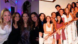El reencuentro de las actrices de Montaña Rusa