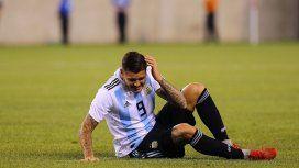 Afuera de la Copa América