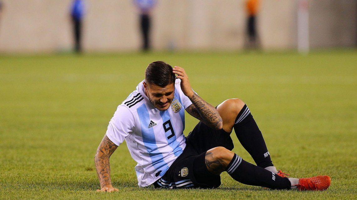 Afuera de la Copa América, la imagen provocadora de Mauro Icardi