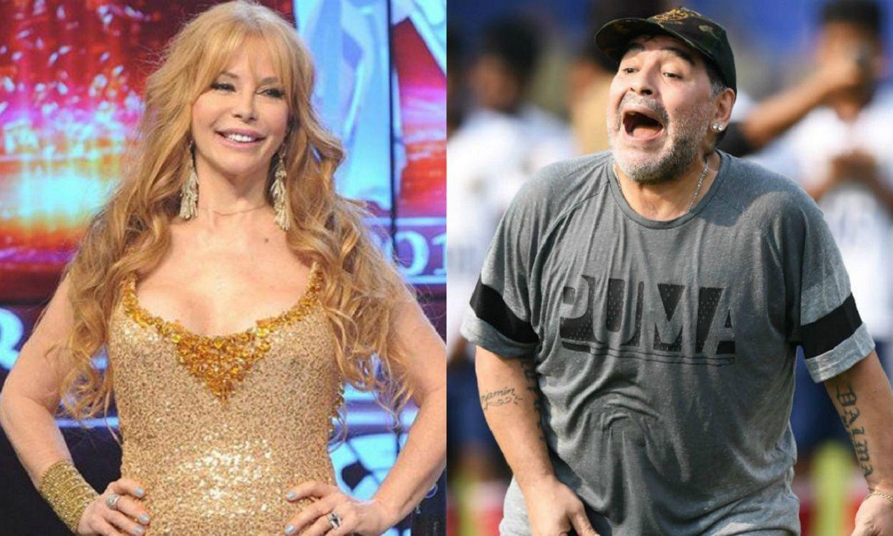 Los secretos del affaire de Graciela Alfano y Diego Maradona