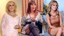 Mirtha, Moria y Mariana Fabbiani: las grandes ausentes de los Martín Fierro