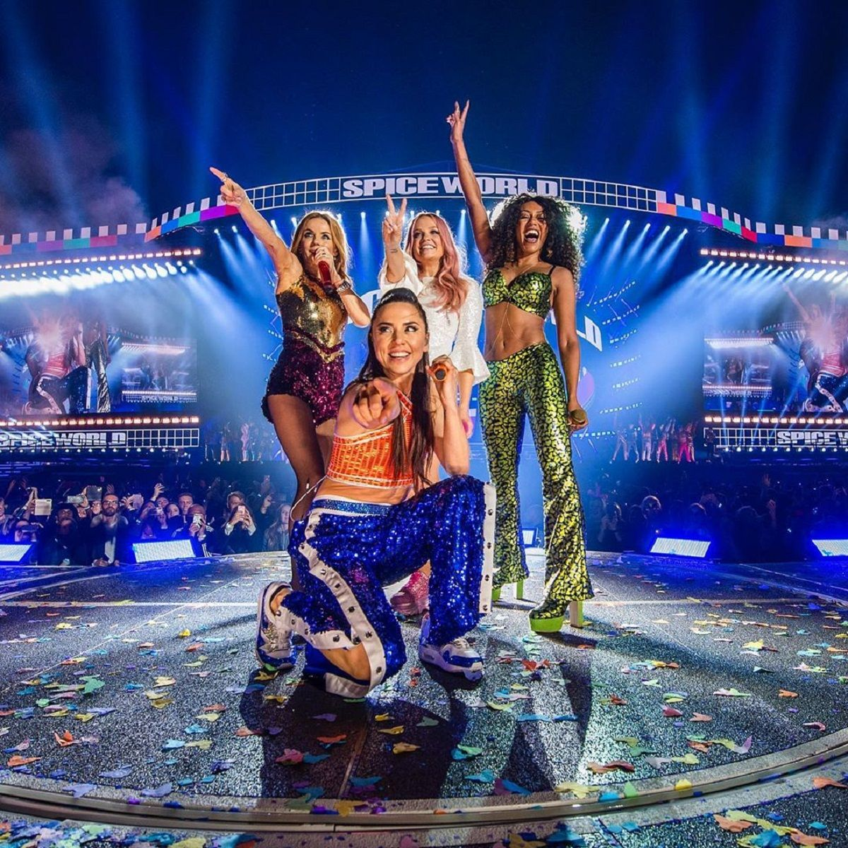 Escándalo en un show de las Spice Girls: problemas técnicos y devolución de entradas