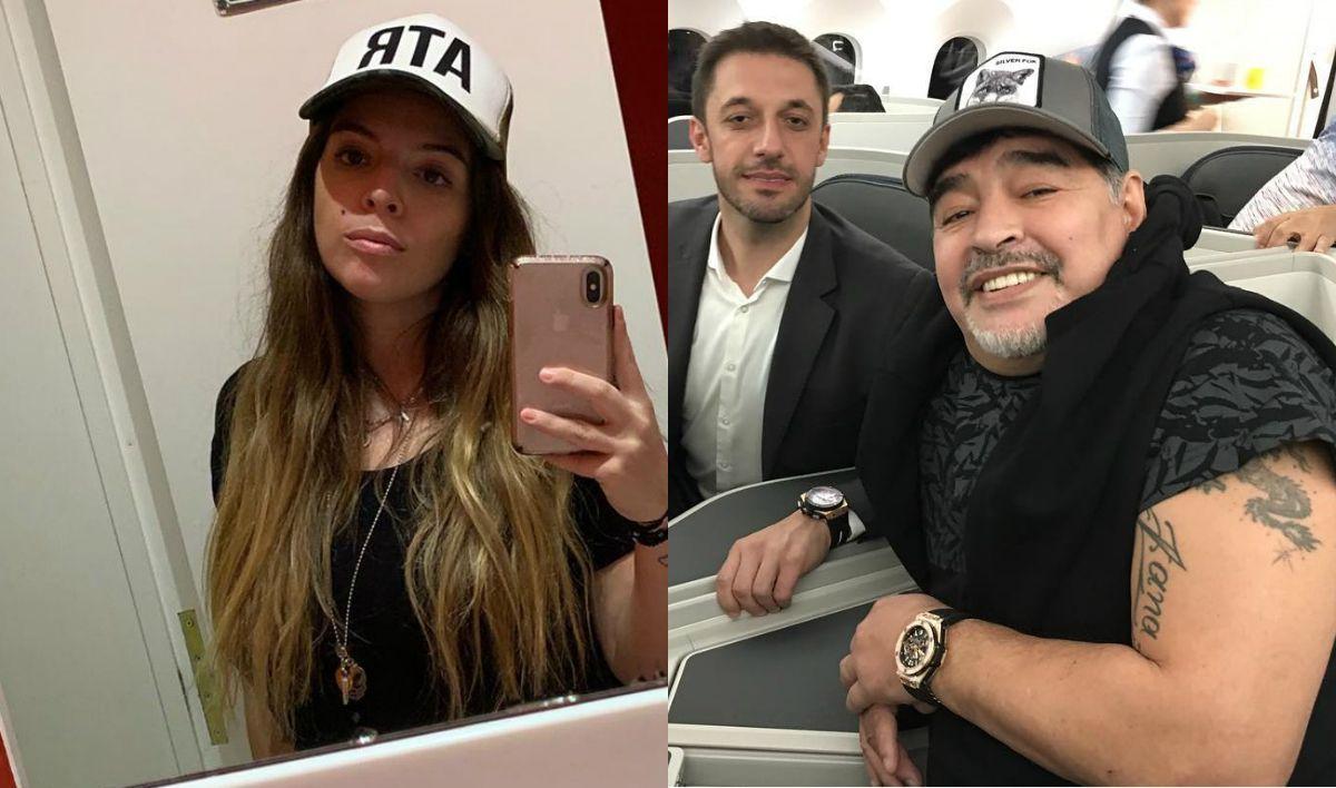 Dalma Maradona le respondió a Morla: Sos lo peor que le pasó a mi papá