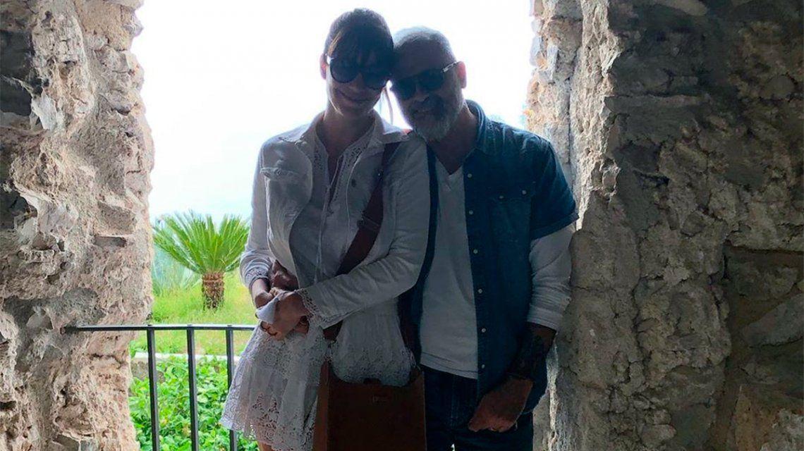 Los románticos posteos de Jorge Rial desde su luna de miel con Romina Pereiro