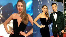 Una diosa de Hollywood: el look de Pampita para los Martin Fierro con costosas joyas de esmeraldas