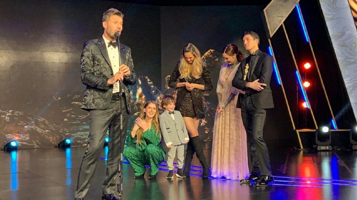 Con una gran sorpresa de sus hijos, Marcelo Tinelli fue homenajeado por su trayectoria