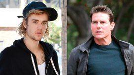 Justin Bieber sorprendió a todos e invitó a pelear a Tom Cruise