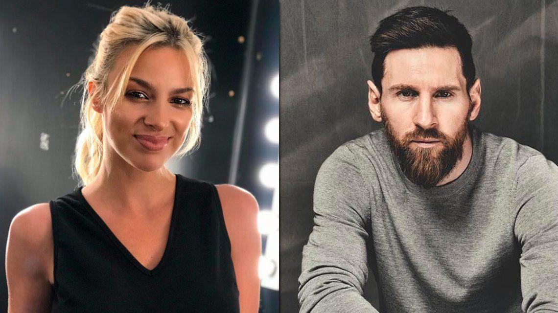 Ailén Bechara contó la trastienda del encuentro de su hijo con Lionel Messi