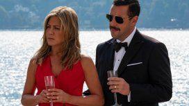 Jennifer Aniston y Adam Sandler rompen récords con Misterio a bordo