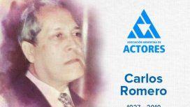 Murió Carlos Romero, actor y maestro del doblaje