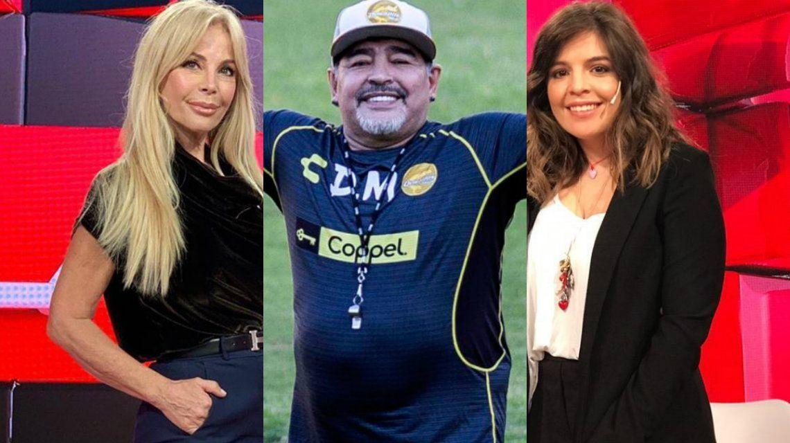 Graciela Alfano confesó que tuvo sexo con Diego Maradona y Dalma explotó