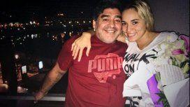 ¿Reconciliados? La foto de Rocío Oliva y Diego Maradona, nuevamente juntos