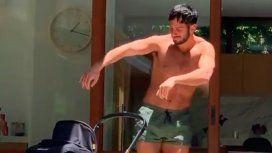 El divertido ritual de baile del marido de Ricky Martin para su hija Lucía