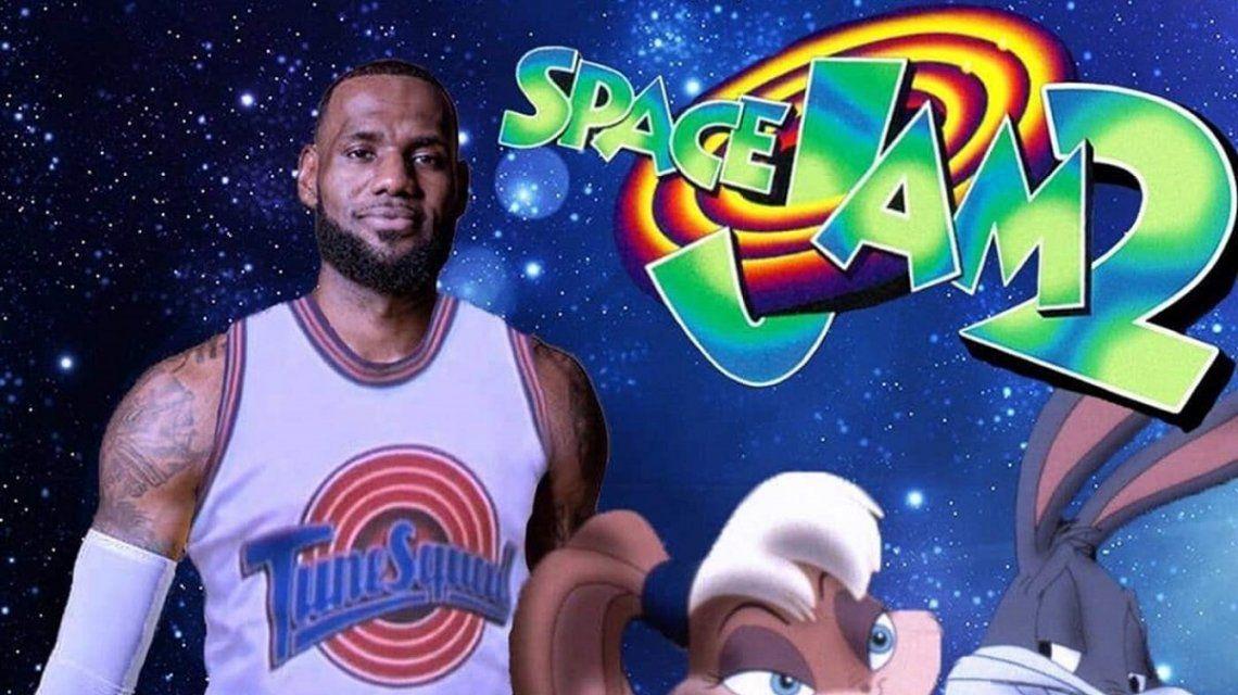 Las primeras fotos del detrás de escena de Space Jam 2 con LeBron James