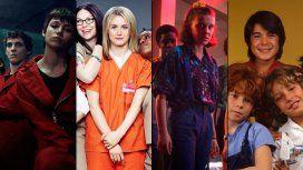 La Casa de Papel, Orange is the New Black, Stranger Things y Parchís: estrenos de lujo en Netflix