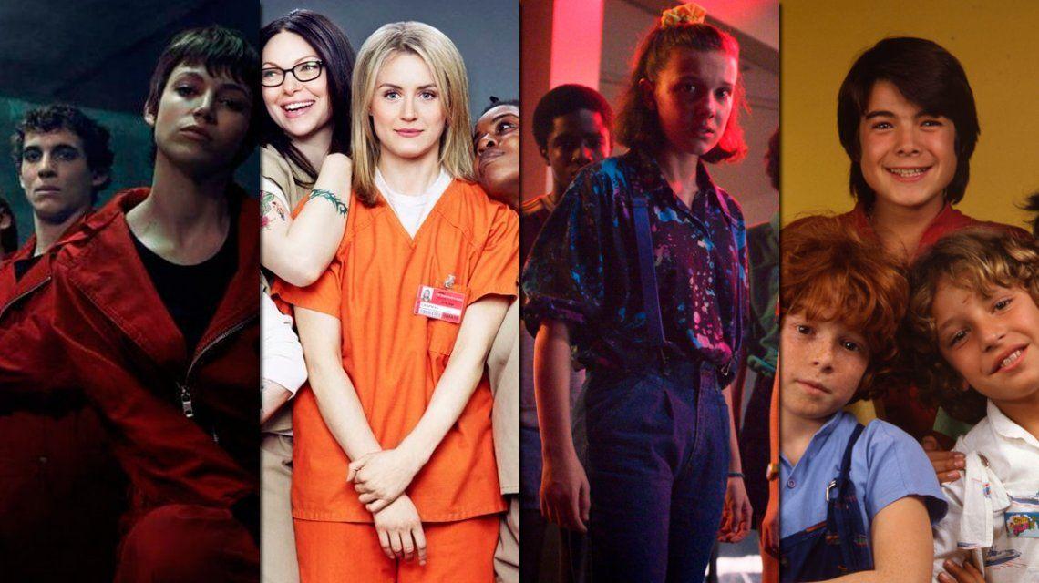 La Casa de Papel, Orange is the New Black, Stranger Things y Parchís: estrenos de lujo de Netflix en julio