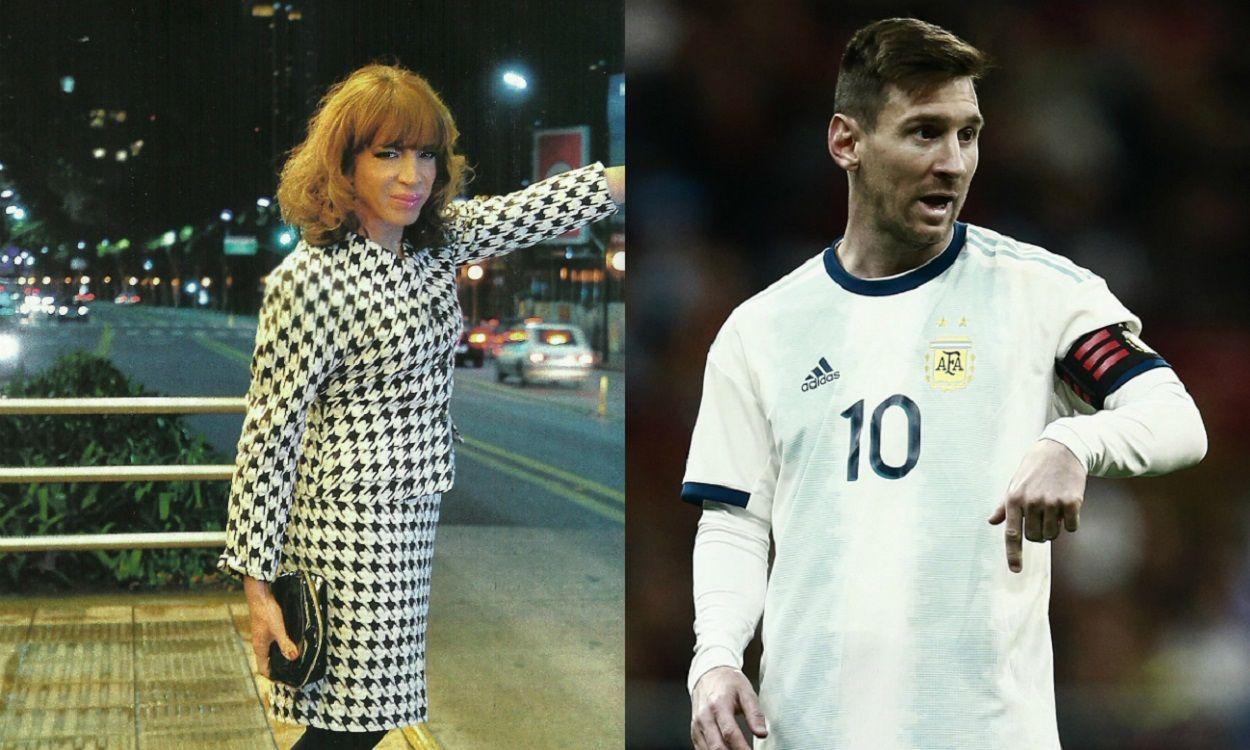 El chiste de Lizy Tagliani sobre el tatuaje de Lionel Messi