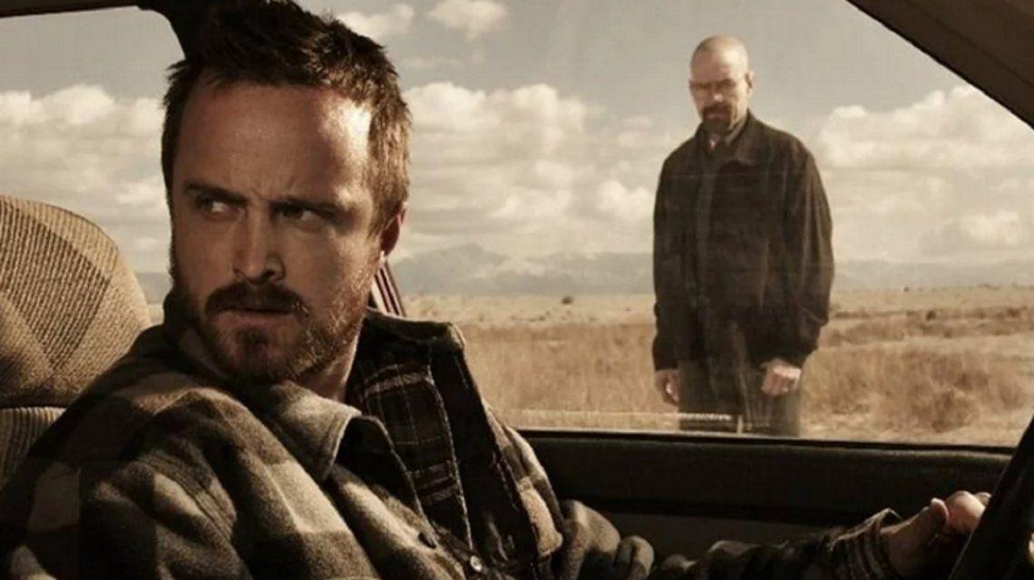 Aaron Paul y Bryan Cranston publicaron otra foto juntos: más pistas sobre la película de Breaking Bad