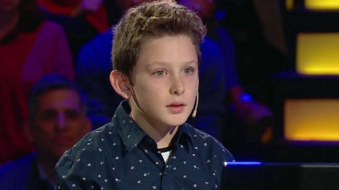 Polémica por el nene de 10 años que participó en ¿Quién quiere ser millonario?