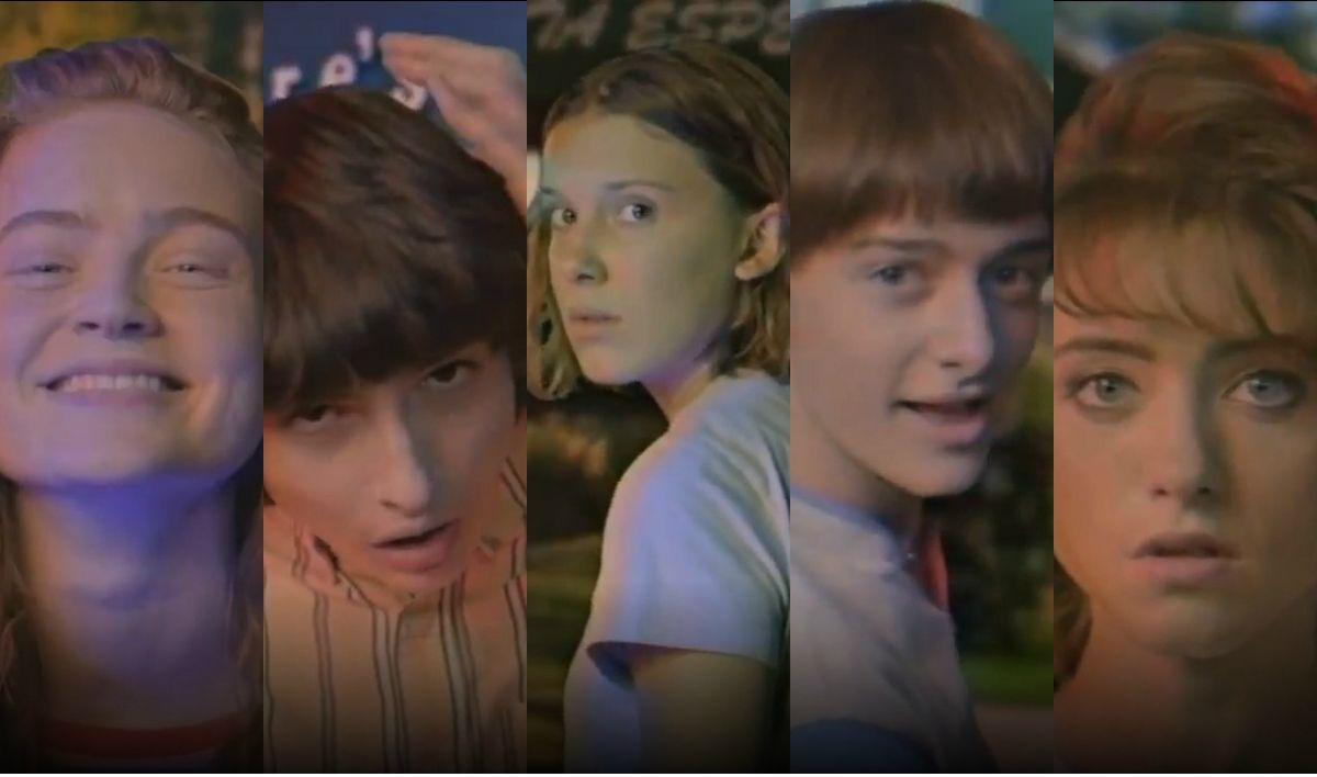 El video de los actores de Stranger Things a lo Verano del 98