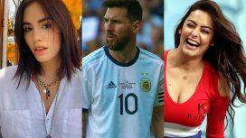Lali Espósito y varios famosos, indignados por la expulsión de Messi y el VAR