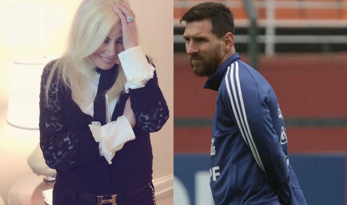 Susana Giménez, sacada como Messi por los arbitrajes de la Copa América
