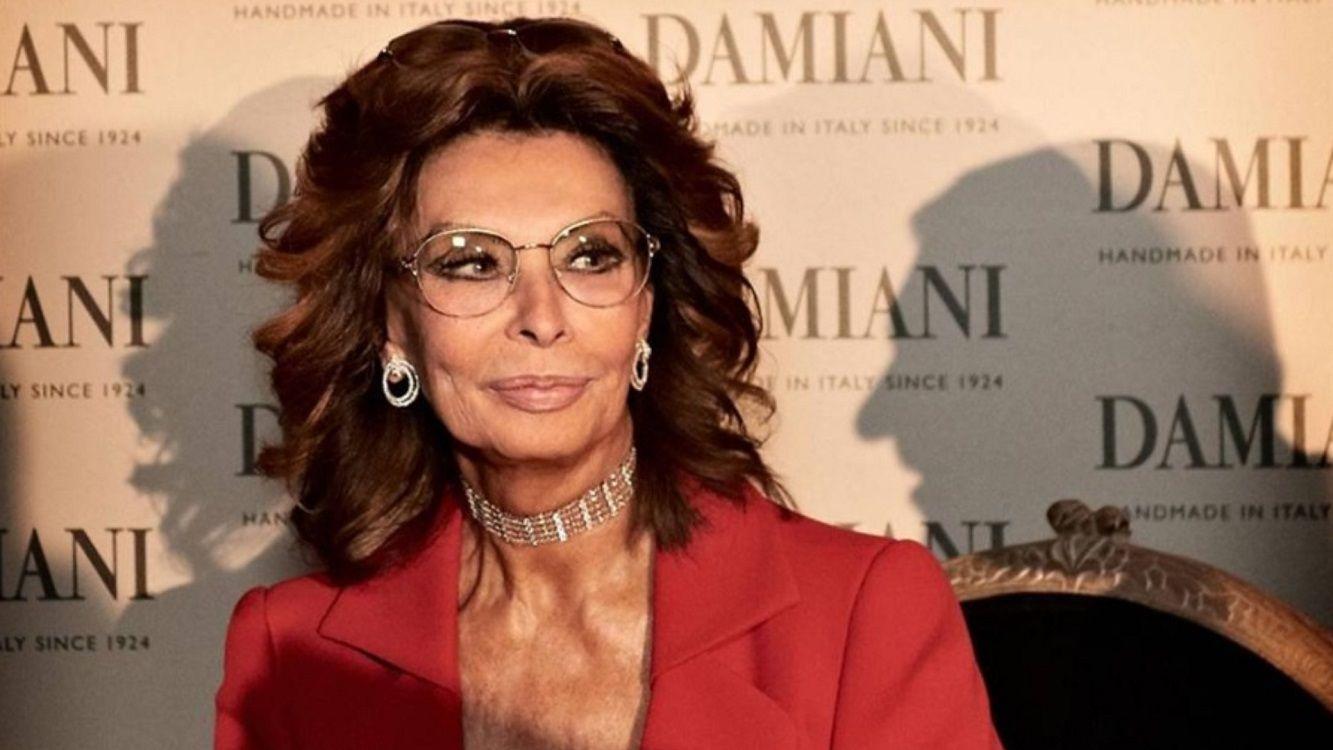A los 84 años, Sophia Loren vuelve al cine tras una década de ausencia
