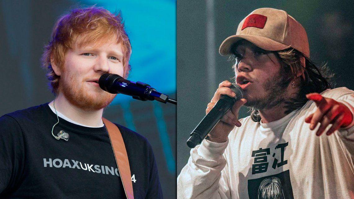 Se estrenó Nothing on You, el esperado tema de Ed Sheeran con Paulo Londra