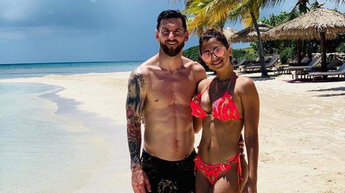 Lionel Messi gasta en sus vacaciones por día lo que cobra un trabajador argentino en un año y medio