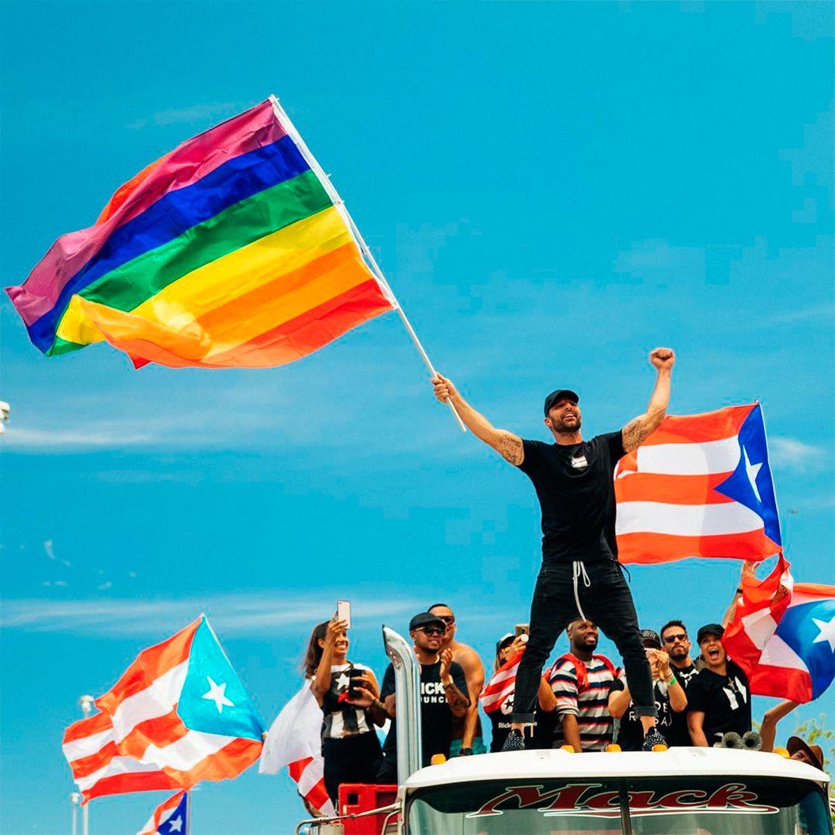 Ricky Martin lideró las protestas en Puerto Rico: Ricardo Rosselló no gobierne más