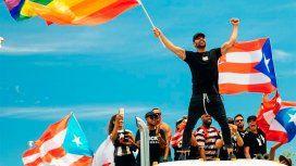 Su perfil menos conocido: Ricky Martin lideró las protestas en Puerto Rico