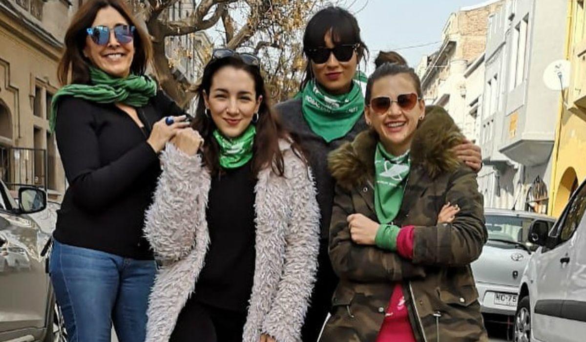 Actrices Argentinas, presente en Chile por la marcha a favor del aborto legal