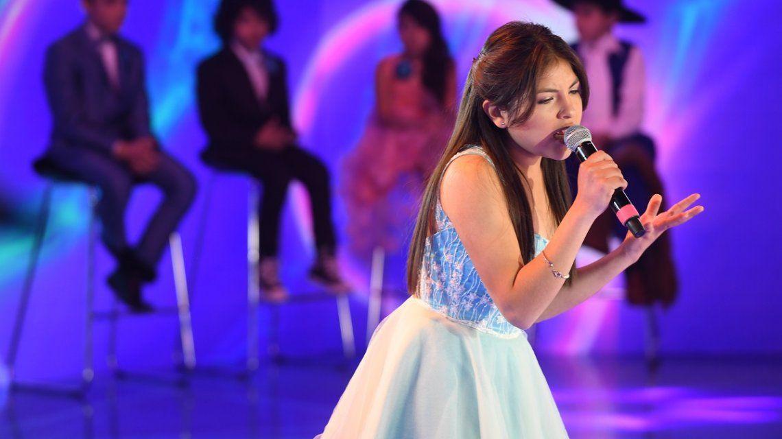 Agustina Neri ganó Genios de la Argentina (gentileza La Flia - Jorge Luengo)