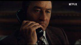El primer tráiler de Robert De Niro, Al Pacino y Joe Pesci dirigidos por Martin Scorsese en El Irlandés