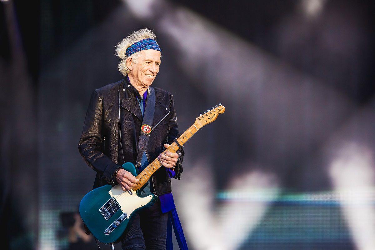 El guiño de Keith Richards a la Argentina