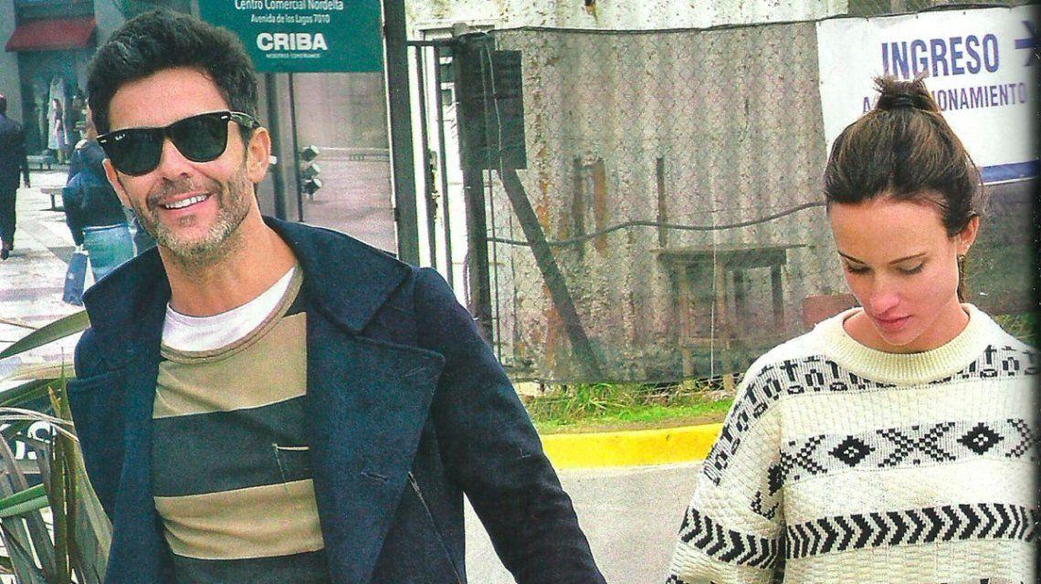 Mariano Martínez se tatuó el nombre de su novia