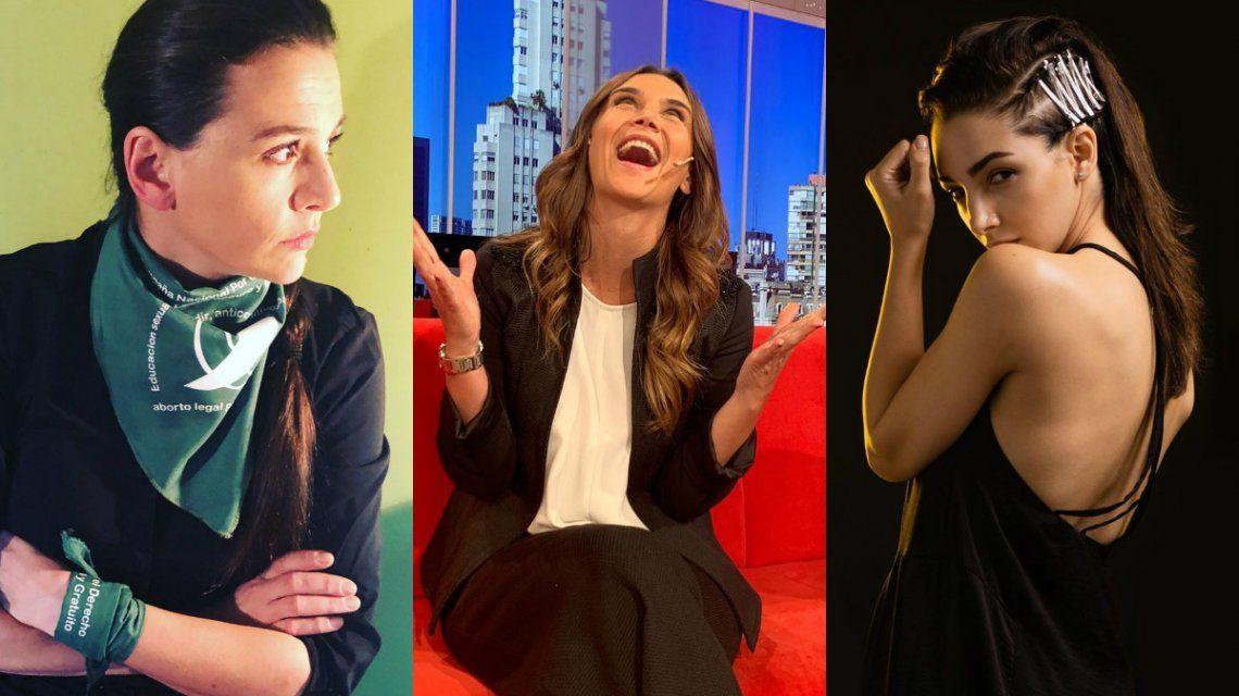 Los mensajes de las famosas a un año del rechazo a la ley de despenalización del aborto