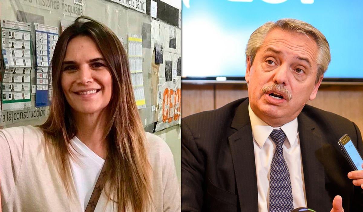 Indignante video de Amalia Granata para pedir que no voten a Alberto Fernández