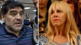 Burlando acusó a Maradona de violencia de género contra Claudia Villafañe