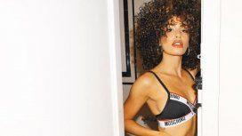 Lali subió una foto en ropa de interior con cambio de look y la acusaron de apropiación cultural