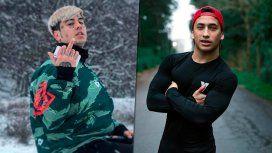 La amenaza del Duki a un grupo de youtubers: Les voy a patear la boca en el piso