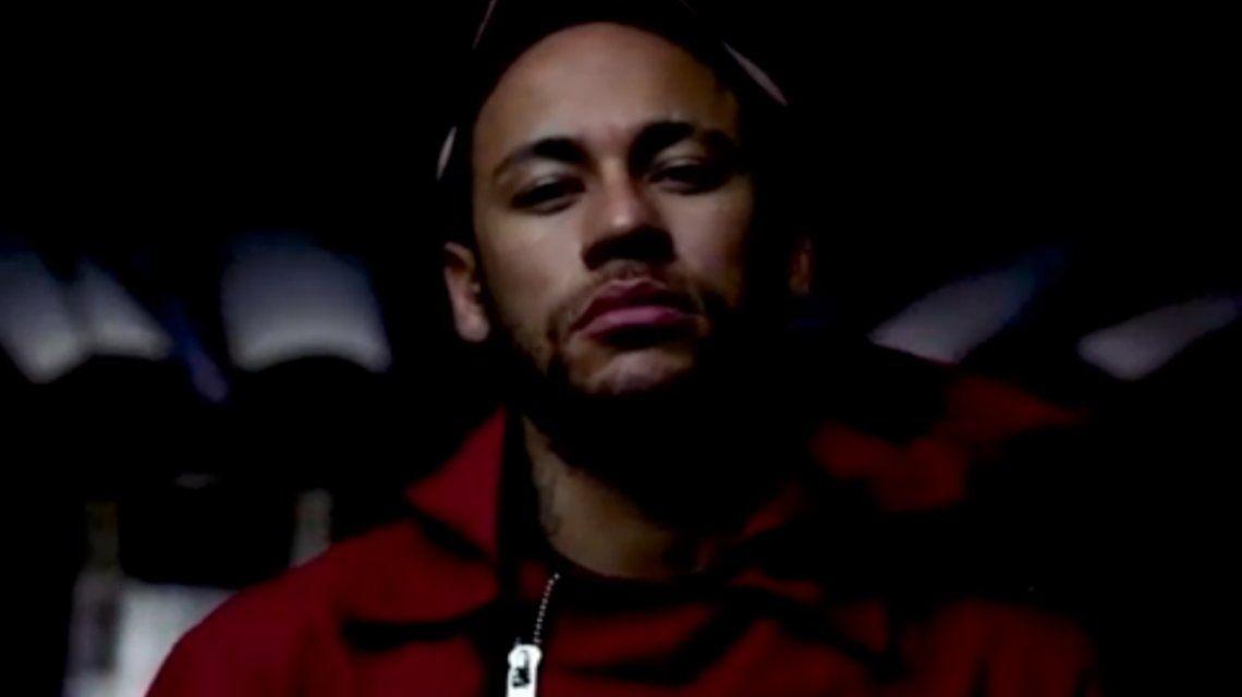 Ni Real Madrid ni Barcelona: Neymar, en La Casa de Papel