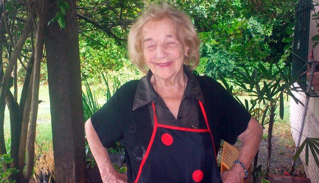Murió la emblemática cocinera Blanca Cotta