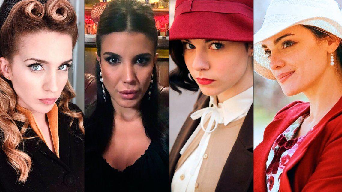 Así serán los personajes de Mecha, Pirucha, Carmen y Marie en Argentina, tierra de amor y venganza