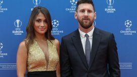El look de Anto Roccuzzo que cautivó a todos en el sorteo de la Champions League