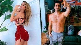 Jimena Barón y Mauro Caiazza anunciando su separación con videos