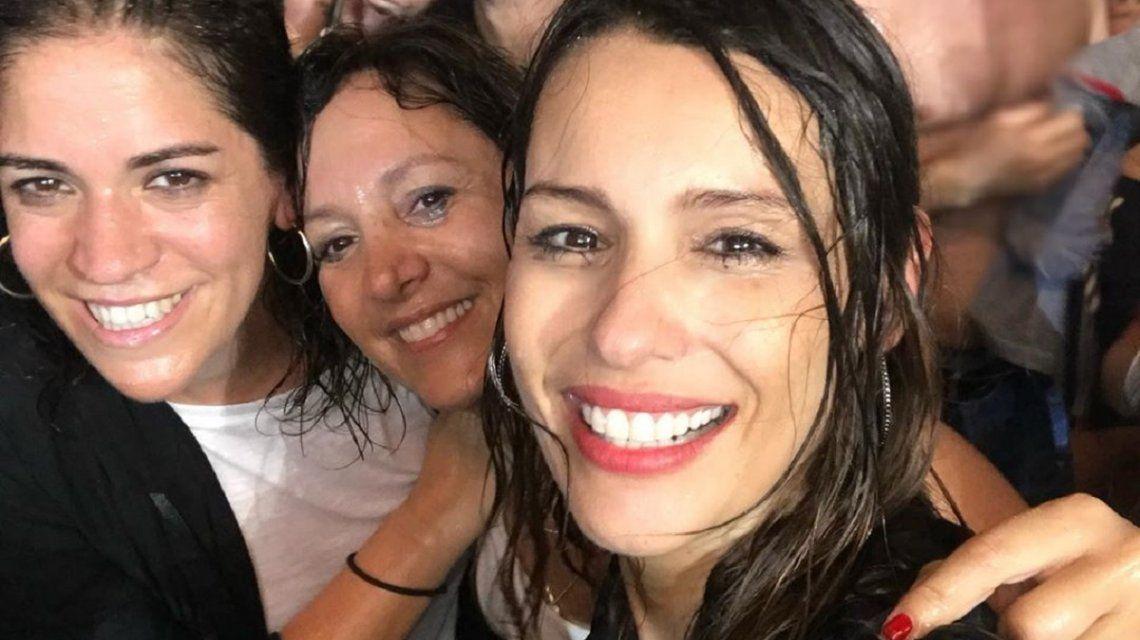 Satisfaction: la locura de Pampita bajo la lluvia en el show de The Rolling Stones en Miami